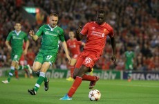 As it happened: Liverpool v Ludogorets, Champions League group stages