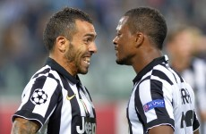 Tevez ends five-year drought to fire Juventus to two-goal win over Malmo