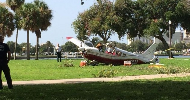 Two Irish men critically injured after dramatic Florida plane crash
