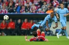 As it happened: Bayern Munich v Man City, Champions League