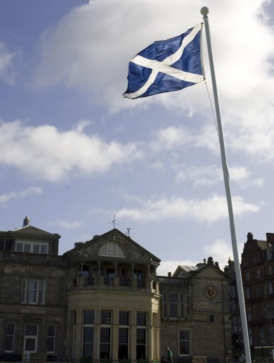 There's another vote in Scotland today… this one impacts on lady golfers