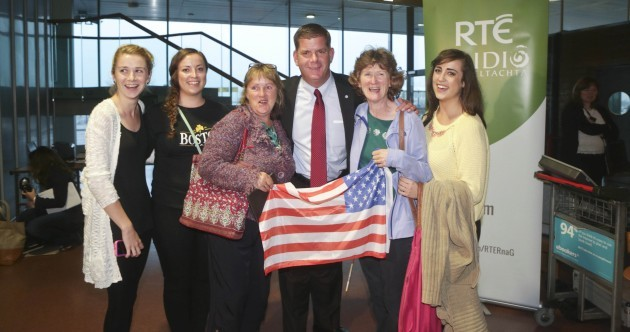 Boston mayor Marty Walsh lands in Ireland for historic homecoming