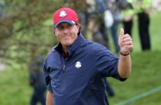 Phil Mickelson makes not-so-subtle dig at Rory McIlroy and Graeme McDowell