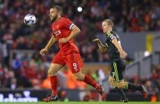 Rickie Lambert vows to train harder in bid to make Liverpool impact