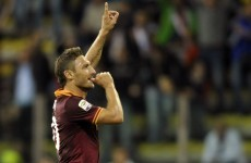 Birthday-boy Totti & 6 more reasons to watch European football this weekend