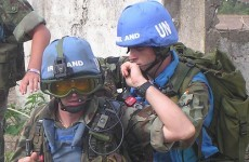 Irish peacekeepers are going to train their African counterparts