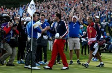 Donaldson clinches Ryder Cup for Europe