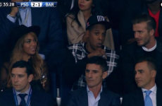 Oh look: Beyonce, Jay-Z and David Beckham are off watching football together tonight