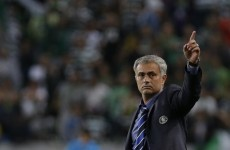 Matic header seals happy return to Lisbon for Mourinho