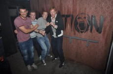 Hilarious photos of terrified Irish rugby players in a haunted house