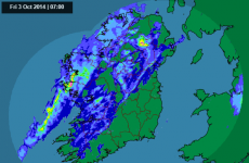 Met Éireann issues rainfall warning for seven counties