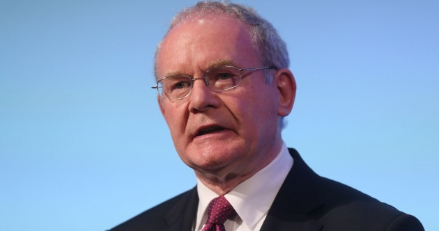 'Nothing republican about it' – Martin McGuinness leads outrage over Orange Hall burning