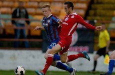 Shelbourne's Dylan Connolly scored this cracking effort last night