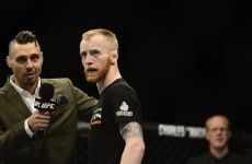 Ireland's Paddy Holohan suffers surprise loss at UFC fight night