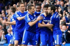 Hazard and Costa on the mark as Chelsea sink Arsenal in a tetchy London derby