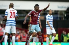 Sakho strikes again as West Ham stroll to victory over QPR