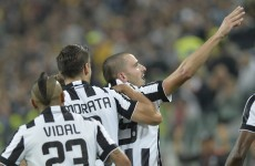 Leonardo Bonucci conjures a superb late winner as Juventus edge Roma 3-2 in Turin thriller