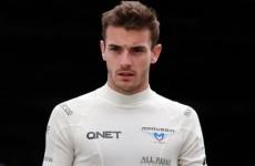 F1 driver Bianchi has brain injury, says family