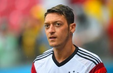 Mesut Özil to miss Germany-Ireland clash, ruled out for 10-12 weeks
