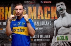 Macklin world title eliminator moved to Dublin's '3 Arena'