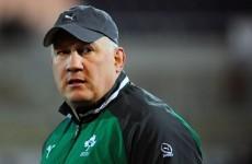 Connacht's Carolan appointed Ireland U20s coach after Ruddock steps down