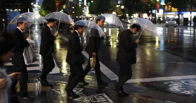 Japan's sozzled salarymen: corporate samurai turning into a lost tribe