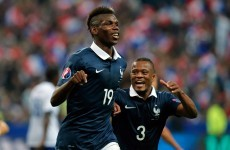 Benzema and Pogba fire French to victory over Ronaldo's Portugal