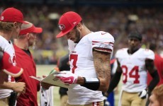 Kaepernick's 80-yard pass swings game for 49ers