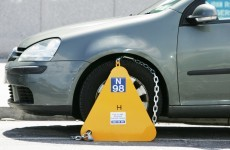 Nine complaints a day made against Dublin clampers