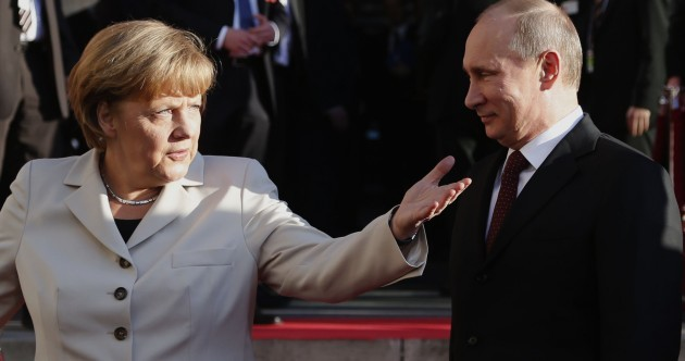 Angela Merkel cancelled a meeting with Vladimir Putin tonight – because he was late