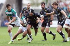 Former giants Toulouse start with a win as Ospreys' strong form continues