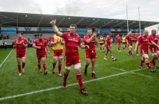 O'Mahony encouraged to see Red Army out in force ahead of Saracens clash