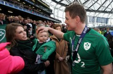 Brian O'Driscoll made our hearts burst when talking about his love for Amy Huberman