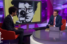 Actor Richard Ayoade gives the most excruciating news interview ever