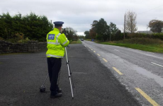 Here's how many people gardaí caught speeding this morning