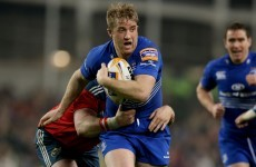 Luke Fitzgerald named for his first Leinster start in almost seven months