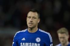 John Terry hits out at Man United 'headlocks'