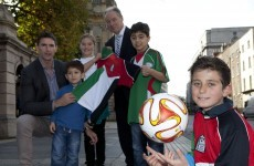 7-year olds in Gaza have suffered three wars and yet they're still trying to play football