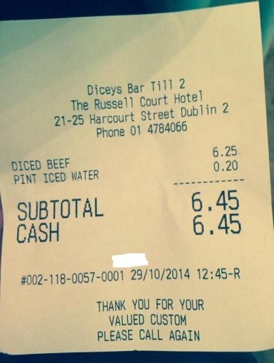 Dublin pub charges for tap water – is it the first of many?