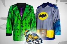 Ice hockey team to 'honour' Batman with one-off jersey
