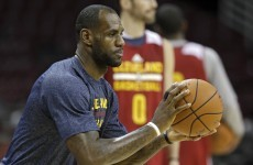 LeBron James is going to make his much-hyped official return to a Cavs jersey
