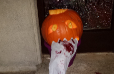 This pumpkin perfectly captures the nation's feelings about water meters