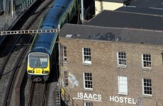 There were major rush hour rail problems in Dublin tonight