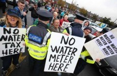 "Gardaí afraid of attacks from ""darker element"" of water protests"