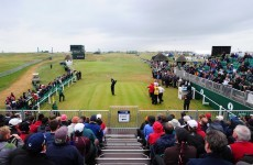The Open leaderboard: day one