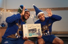 Not one day too soon – Samuel Eto'o and Steven Pienaar star in Everton's Christmas video