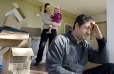 Families face eviction so homes can be used for social housing