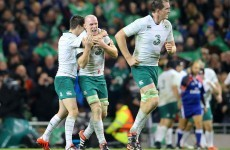 'I didn't mention the injuries once' – Schmidt proud of Ireland's intelligence