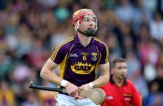 Reports – Wexford senior hurler set to be hit with 48-week ban from GAA