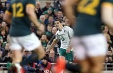 Johnny Sexton among nominees for IRB World Player of the Year